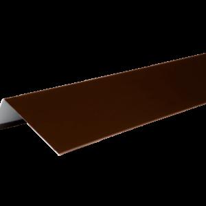 ТЕХНОНИКОЛЬ HAUBERK наличник оконный металлический, полиэстер, RAL 8017 коричневый