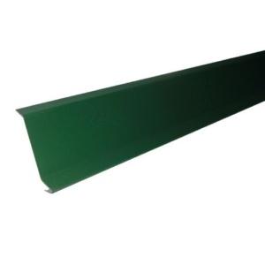 Планка примыкания для гибкой черепицы 19х45х15х10х2000 0,45 полиэстер RAL 6005 зеленый